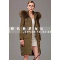 广州健凡女装折扣公司 品牌女装尾货一手货源 羽绒服
