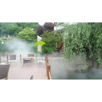 重庆喷雾降温设备室外喷雾降温人造雾喷雾造景系统-重庆维驹环保