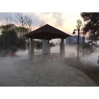 德阳人造雾喷雾降温设备-休闲庄园喷雾降温造景-重庆维驹环保