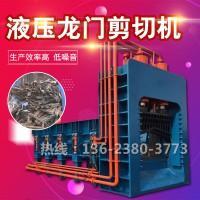废金属液压龙门剪 大型槽钢液压剪切机 立式重型废钢龙门切断机