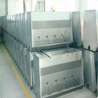 养猪设备双面不锈钢食槽育肥料槽保育食槽
