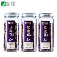柏臻玫瑰花茶 甘肃苦水玫瑰花茶120克