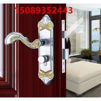 304不锈钢铜锁芯室内卧室木门锁房门锁实木门锁双舌静音执手锁