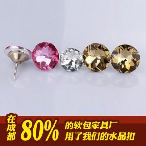 成都天艺软包水晶扣子 连续三年无质量投诉的软包水晶扣子