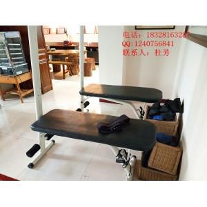 道门杨仁堂自主研发的膀胱经松筋凳,疏通膀胱经去除体内之毒