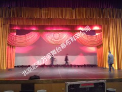 专业制作北京舞台造型幕 直销阻燃舞台幕布