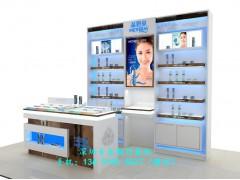 化妆品展示柜设计|化妆品展台制作|深圳展柜厂