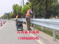 高速公路波形梁钢护栏 乡村公路热镀锌护栏板 绿色护栏板