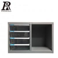 扬州A4抽屉组合可定制桌上资料文件箱档案文件柜透明办公效率柜