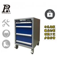 五金工具零件柜扬州4抽工具车带抽屉定制重型车间移动手推整理柜